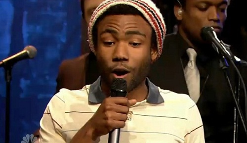 I apologise to Donald Glover for any cool points he loses by being mentioned in this post.