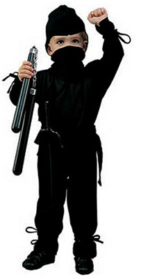The closest approximation of my resemblance to an actual ninja.