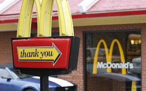 No, McDonalds. Thank YOU.