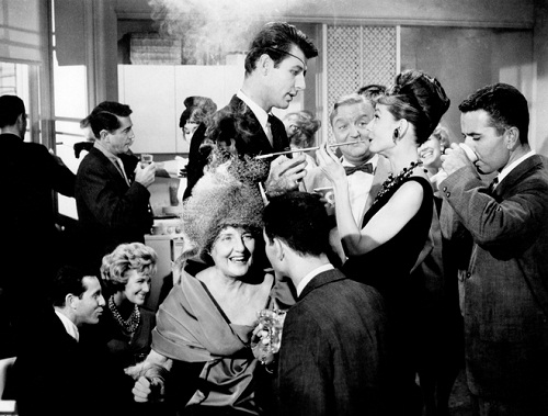 It was as if Holly Golightly had left the cat in charge of hostessing.
