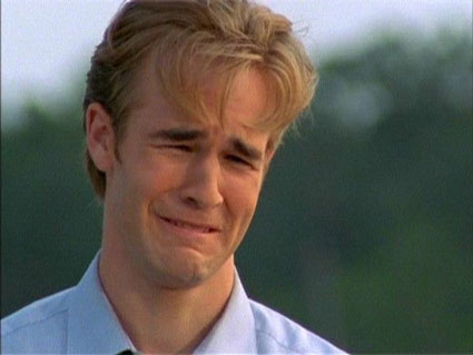 When I cry, I look like Dawson. In case you needed a visual aid.