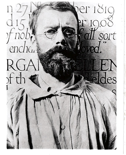 If you think fonts are boring, google 'Eric Gill', the guy who invented Gill Sans. Yikes.