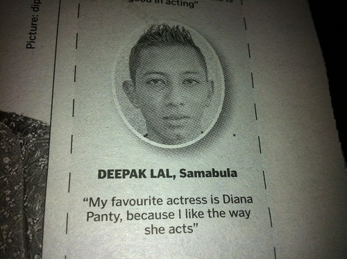 The Bollywood coverage also includes some opinion pieces.