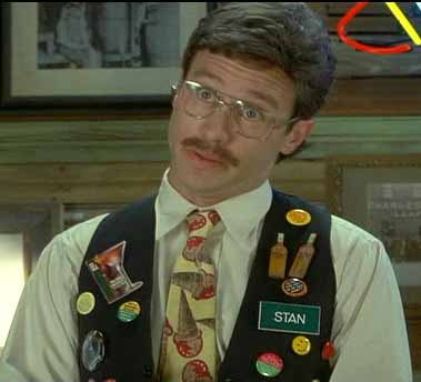 I'm sure it will make me unpopular, but I love workplace flair. Almost as much as this guy does.